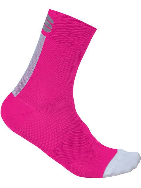 Sportful Bodyfit Pro 12 Socks Women Bubble Gum/White